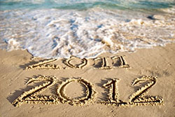 Happy New Year Beach 2012 | Positive Women Rock