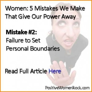 Failure To Set Personal Boundaries | Kelly Rudolph
