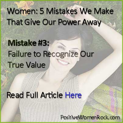 Women: 5 Mistakes #3 True Value | Kelly Rudolph