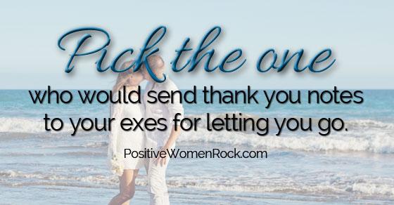 Thank You Notes To Exes - Positive Women Rock