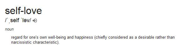 google self-love new definition Positive Women Rock