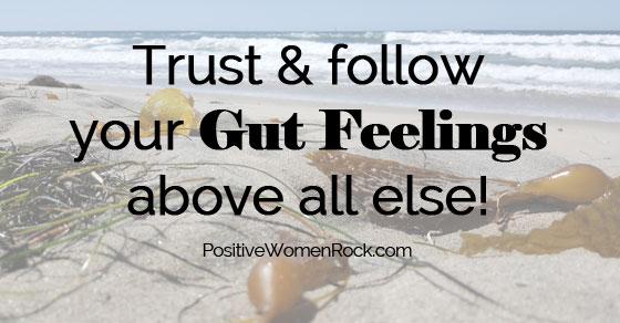 Trust gut feelings above all else, Kelly Rudolph