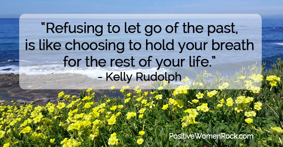 Refusing to let go of the past is a choice