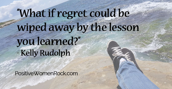lessons take the place of regret, Kelly Rudolph