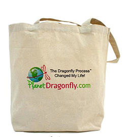 Positive Women Rock | Planet Dragonfly tote bag