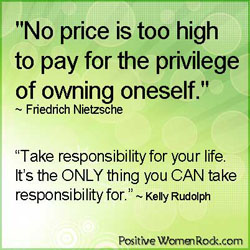Own Your Life - Take Responsibility | Kelly Rudolph
