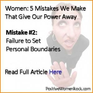 Failure To Set Personal Boundaries | Kelly Rudolph