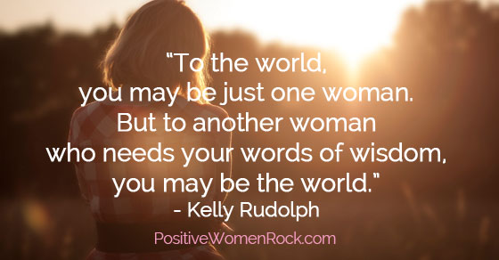 Your past doesn't define you, Positive Women Rock
