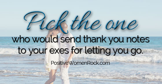 Thank You Notes To Exes - Positive Women Rock