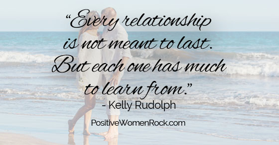 Relationships are to learn from
