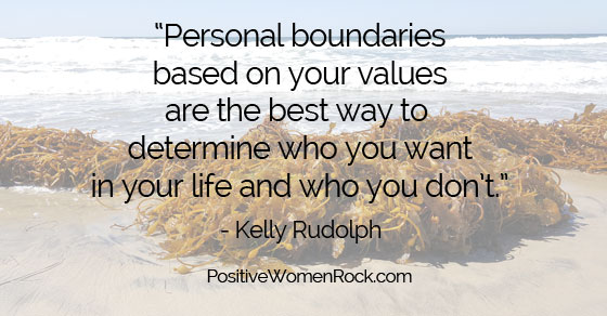 Personal Boundaries,, Kelly Rudolph