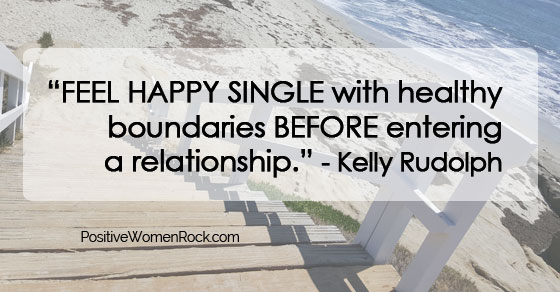 Single with healthy boundaries, Kelly Rudolph