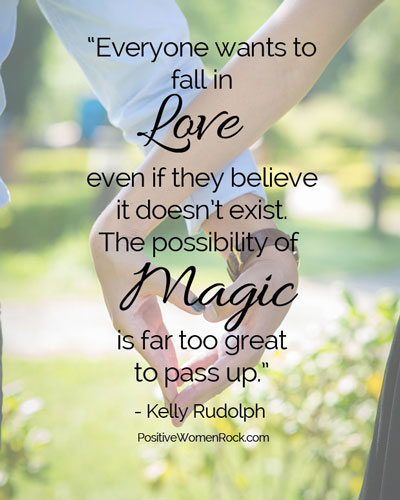 Fall in love with yourself first, Kelly Rudolph