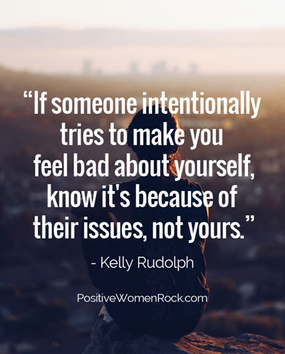 Emotionally abusive people, their issue, not yours