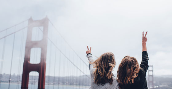 Healthy friendships include similar values
